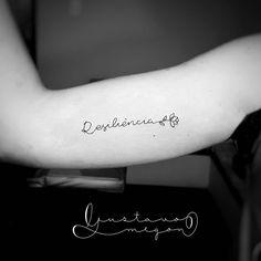 Instagram - @megontattoo Resiliencia! #tattoo #tatuagem #finelinetattoo #delicate #tatuagemfeminina #tatuagemdelicada #tatuagensdelicadas #fineline #bananal #voltaredonda