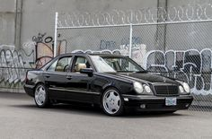A Third Euro Brand Appeared in my Driveway - Mercedes W210 E320