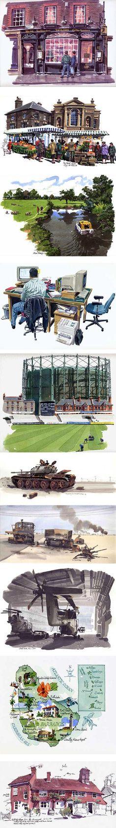UK illustrator Matthew Cook