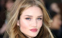 rosie huntington whiteley natural look - Google Search