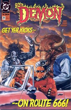 """The Demon (1990) - #35 """"The Eternity Quest Part 5: Don't Mess with the Four Dudes!"""""""