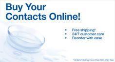Soczewki kontaktowe Online