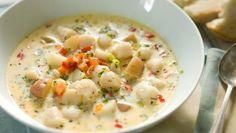 Chowder Soup, Chowder Recipes, Soup Recipes, Cooking Recipes, Yummy Recipes, Dinner Recipes, What's Cooking, Vegetarian Recipes, Soups