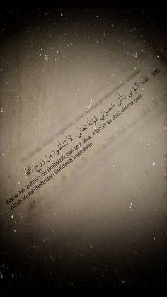 Muslim Quotes, Arabic Quotes, Islamic Quotes, Wallpaper Telefon, Words Quotes, Qoutes, Turkish Language, Literature Books, Allah Islam