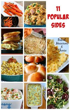 Here's a great selection of top side dish recipes, easy to make and always a hit with the family!