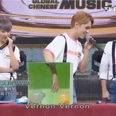 his face expressions are hilarious 😂💖💖💖 hoshi's part killed me 😂😂😂 • #hansol #vernon #hansolvernon #seventeenvernon #hansolvernonchwe #버논 #saythename_17 #seventeen #hoshi
