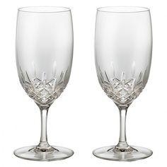 Lismore Essence Water Glass, Pair