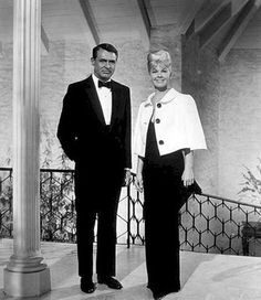 Doris Day - That Touch of Mink evening wear. If only people had enough class to still dress like this.