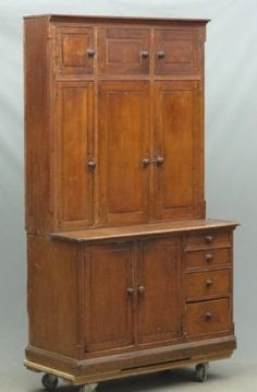 NC 19th c. Painted Jelly Cupboard, : Lot 207