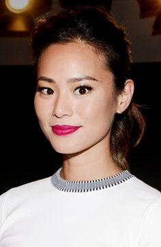 Exclusive:+Jamie+Chung's+Favorite+Makeup+Trick+via+@byrdiebeauty