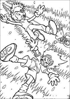 Digimon Tegninger til Farvelægning. Printbare Farvelægning for børn. Tegninger til udskriv og farve nº 20
