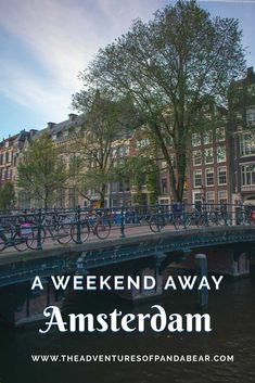 This is the best weekend guide to Amsterdam, the 3 day long weekend itinerary takes you to some of the most popular tourist sights as well as some off the beaten path museums, things to see, and places to eat. #amsterdam #netherlands #weekend #itinerary #thingstodo