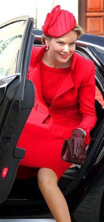 Queen Mathilde, February 17, 2014 | The Royal Hats Blog