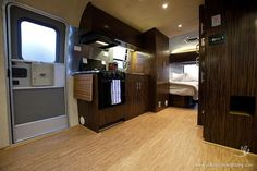 airstream campers remodel | while the Airstream is powered by solar panels . The 25-foot Airstream ...