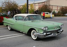 1958 Cadillac 62 Coupe DeVille Cadillac, Doors, Beauty, Classic Cars, Cutaway, Beleza, Cosmetology, Doorway, Gate