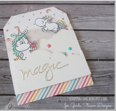 A little magic! Gerda Steiner Designs Card by Yolanda at ScrapingTime