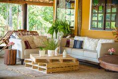 Lounge com Palete