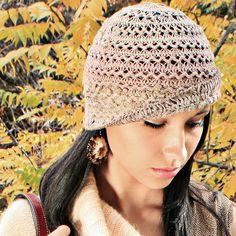 Hairpin Bucket Hat by Jennifer Hansen