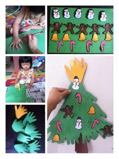 Children crafting