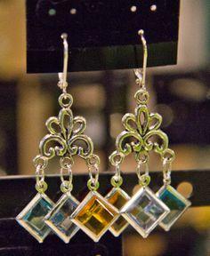 Handmade earrings. www.athm.org
