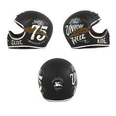 motomood: Mike Brown 75 helmet - Unionwell