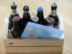 Root Beer/Soda/Beer sampler for Father's Day or Dad's birthday! This was a HUGE hit for my husband.