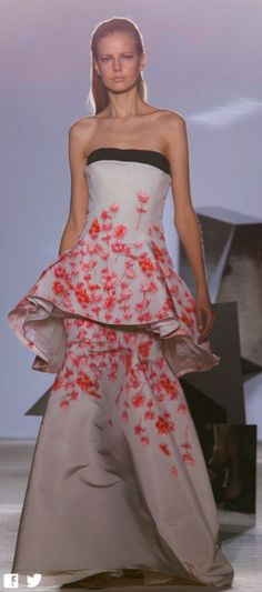 Giambattista Valli, Spring 2014 Couture