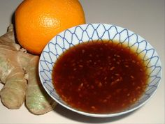 Make and share this Orange-Ginger Sesame Sauce recipe from Genius Kitchen. Gluten Free Recipes For Dinner, Vegetarian Recipes, Oriental Salad, Sesame Sauce, Ginger Sauce, Food N, Vegan Food, Grilled Shrimp, Homemade Sauce