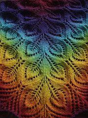 Ravelry: Gail (aka Nightsongs) pattern by Jane Araújo. A beautiful wrap no matter what color. Pattern is a FREE Ravelry download.