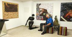Galerie Benedict, Vienna - Contemporary African Diaspora paintings and sculpture