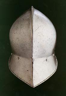German Sallet and Bevor, circa 1475 -- myArmoury.com