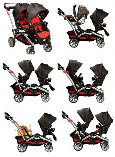 contours optima stroller positions