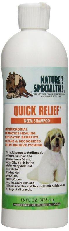 Premium K9 Anti Fleas Itch Ticks Fast Relief Dog Shampoo Conditioner Clean New…
