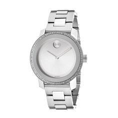 Movado Women's Bold Mid-Size Diamond-accented Watch   Overstock™ Shopping - Big Discounts on Movado Movado Women's Watches