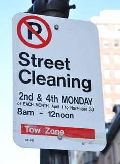 is there street cleaning on memorial day in boston