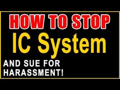 Stop IC System! — Sue for Harassment — Recover Money — Call 855-301-5100