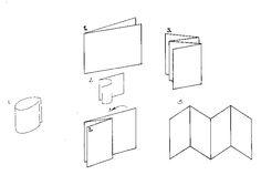 схема изготовления книги-гармошки