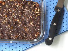 Brownies sans gluten, sans cuisson