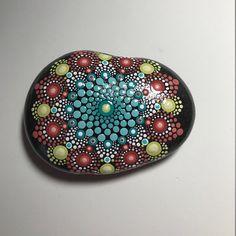 Hand Painted Mandala Stone, Meditation Mandala Stone, Dot Art Stone,  Healing Stone,