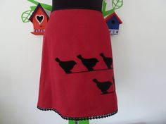 Miss Birds on a Wire (Size L / 42) Skirt