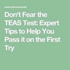 Worried about taking the TEAS test? We've got answers to all of your questions about this nursing school entrance exam so you can be confident and prepared on exam day. College Nursing, Nursing School Tips, Nursing Tips, Nursing Major, Nursing Degree, Nursing Schools, Ati Teas, Teas 6, Teas Test Study Guide
