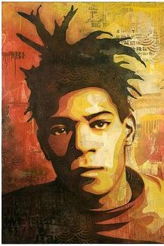 Shepard Fairey (OBEY the giant) - Basquiat