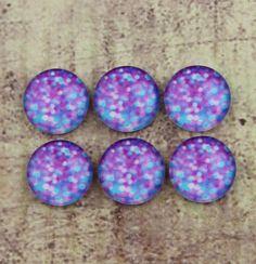 10pcs 12mm Handmade Photo Glass Cabochon  by DIYjewelryWholesale