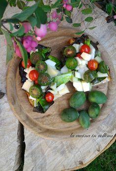 la cucina in collina: insalata pere e formaggio
