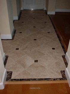 Check it out would like to see some neat tile designs for entryway – Ceramic Tile Advice Forums – John Bridge Ceramic Tile The post would like to see some neat tile designs for entryway – Ceramic Tile Advice Foru… appeared first on Caz Decor . Entry Tile, Tiled Hallway, Entryway Flooring, Tile Entryway, Entryway Ideas, Tile Flooring, Flooring Ideas, Buy Tile, Ceramic Floor Tiles
