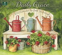 Legacy Publishing Group, Inc. Legacy of Faith 2015 Wall Calendar with Scripture, Daily Grace by Beth Yarbrough (WCA13217)