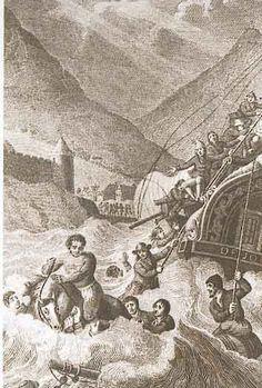 """Die verhaal van Wolraad Woltemade is waarskeinlik ook die verhaal van ons land se eerste heldedaad. Hierdie gebeurtenis het plaasgevind 120 jaar na die stigting van die verversingstasie aan die Kaap. Die Kaap wat toe reeds bekend gestaan het as """"Die Kaap van Storms"""" ... De Jonge Thomas, 'n Oos-Indiese skip, het op Sondag, 30 Mei 1773 in 'n hewige storm beland in Tafelbaai. Vir 'n dag en 'n nag het die storm in woede toegeneem, sodat die ankertoue later een vir een gebreek het. Cape Town South Africa, Beaches In The World, Most Beautiful Beaches, Folk Music, My Land, Historical Pictures, African History, Back In The Day, Continents"""