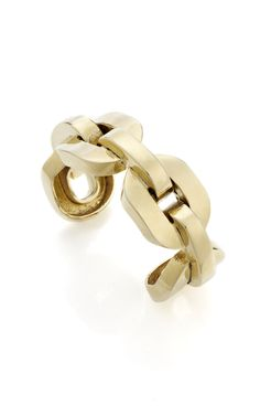 Shop Jennifer Fisher XL Square Chain Link Cuff at Moda Operandi
