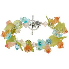 As Sweet as You Bracelet.. had to post a second bracelet - I love the flowers, and the whimsy, and the girly-ness of this!