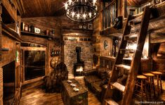 inside treehouse | Inside, the treehouse is equipped with everything you can imagine and ...